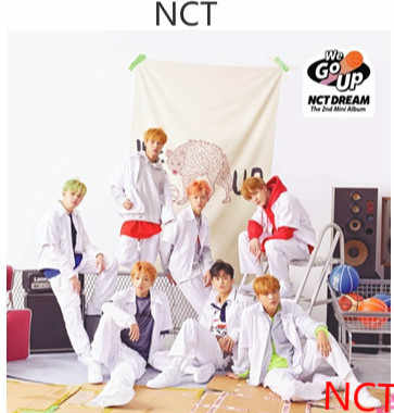 [MYKPOP] ~ 100% Официальный оригинал ~ NCT DREAM WE GO UP MINI 2 набор альбомов CD + Фотокнига + плакат + мини-книга + наклейка KPOP пункт SA18101605