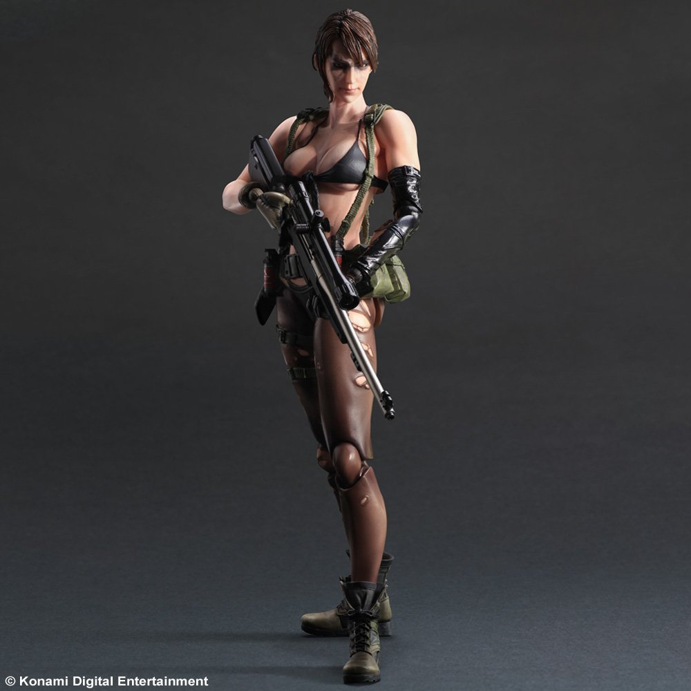 METAL GEAR SOLID V QUIET THE PHANTOM PAIN PLAY ARTS KAI ACTION FIGURE