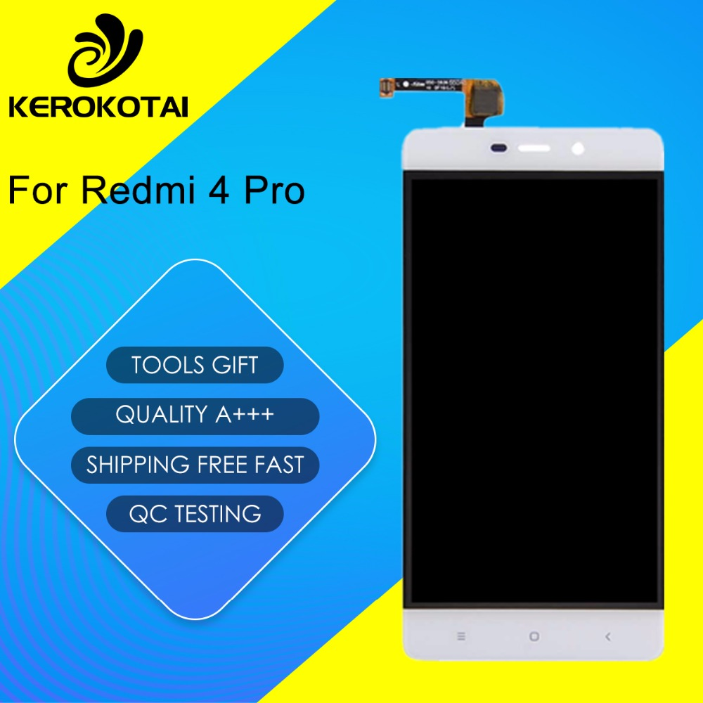 FOR Xiaomi Redmi 4 Pro 100 Tested Good Quality LCD Display Touch Screen Digitizer Assembly MI