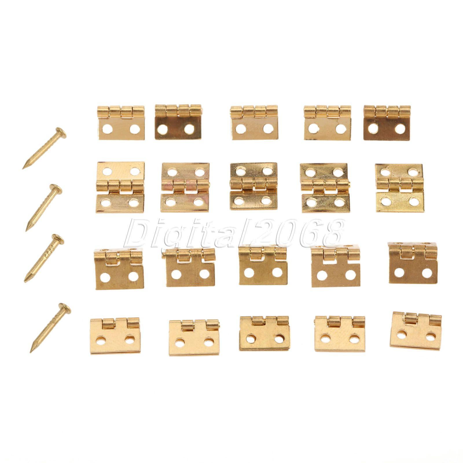 New Hot Vente 20 pcs Décoratif Vintage Mini Papillon Charnières Pour  Cabinet Bronze 1 0.8 cm Taille avec des Clous 5f5c3bb9ba2