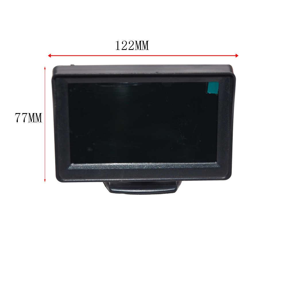 Monitor de coche 4,3 o 5 pulgadas TFT LCD vista trasera Camer IR espejo Universal asistencia de aparcamiento para Chevrolet: Cruze/Epica/Aveo/Malibu