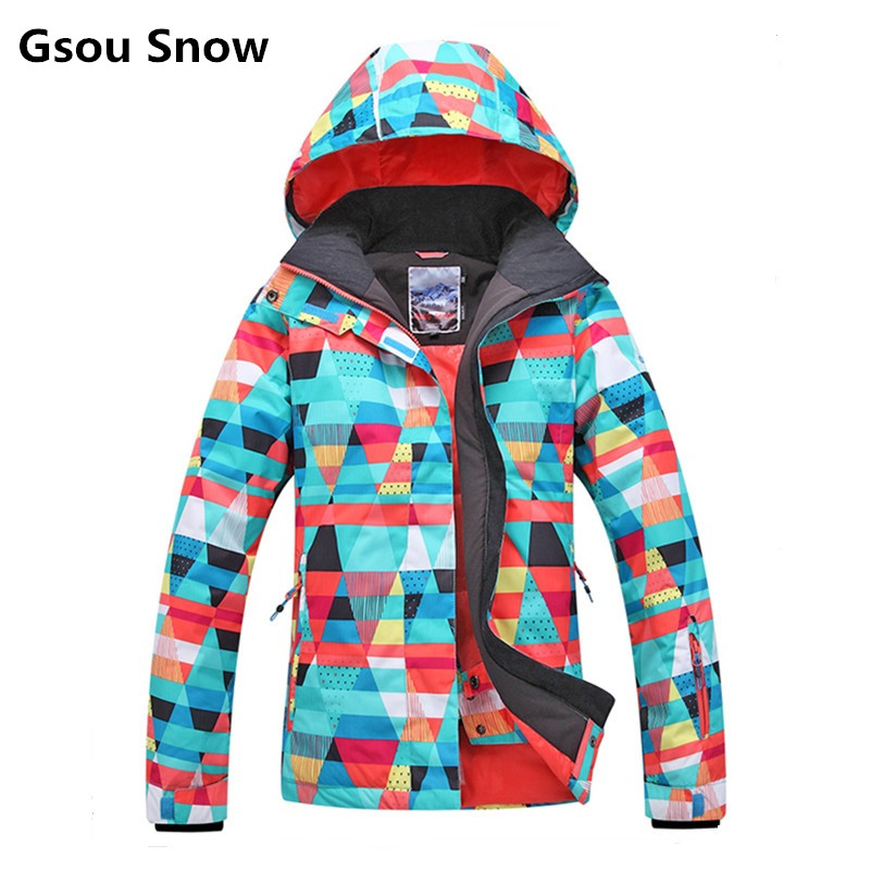 2017 Gsou ski jacket women snowboard winter snow jacket skiwear ski jas heren clothes esqui warm waterproof 2017 gsou ski jacket women snowboard winter snow jacket skiwear ski jas heren clothes esqui warm waterproof