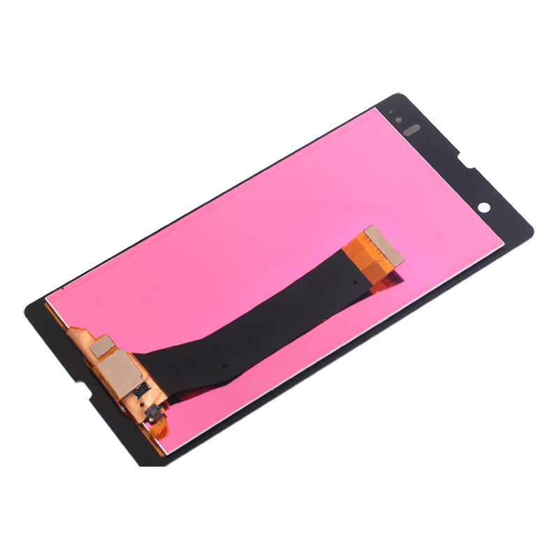Image 4 - For Sony Xperia Z L36H LCD Digital Converter Glass Panel Assembly for Sony Xperia Z C6603 C6602 Display LCD Monitor Free Tool-in Mobile Phone LCD Screens from Cellphones & Telecommunications