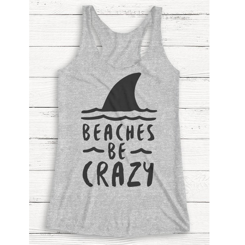 03ae95a9554a hola bitchachos tank top dog mom print clothes rose tanks pineapple cute  beach tops festival 2019 girls fashion sexy summer-in Tank Tops from Women's  ...