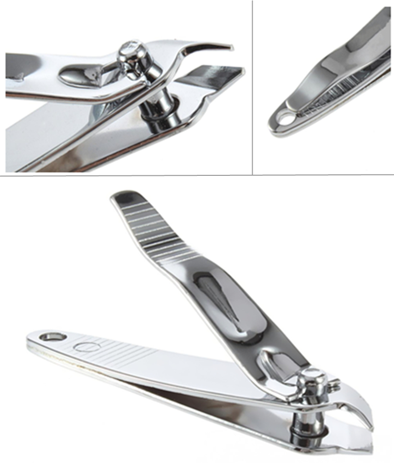 1pcs Stainless Steel Cuticle Nippers Clipper High Quality Nail Slant ...
