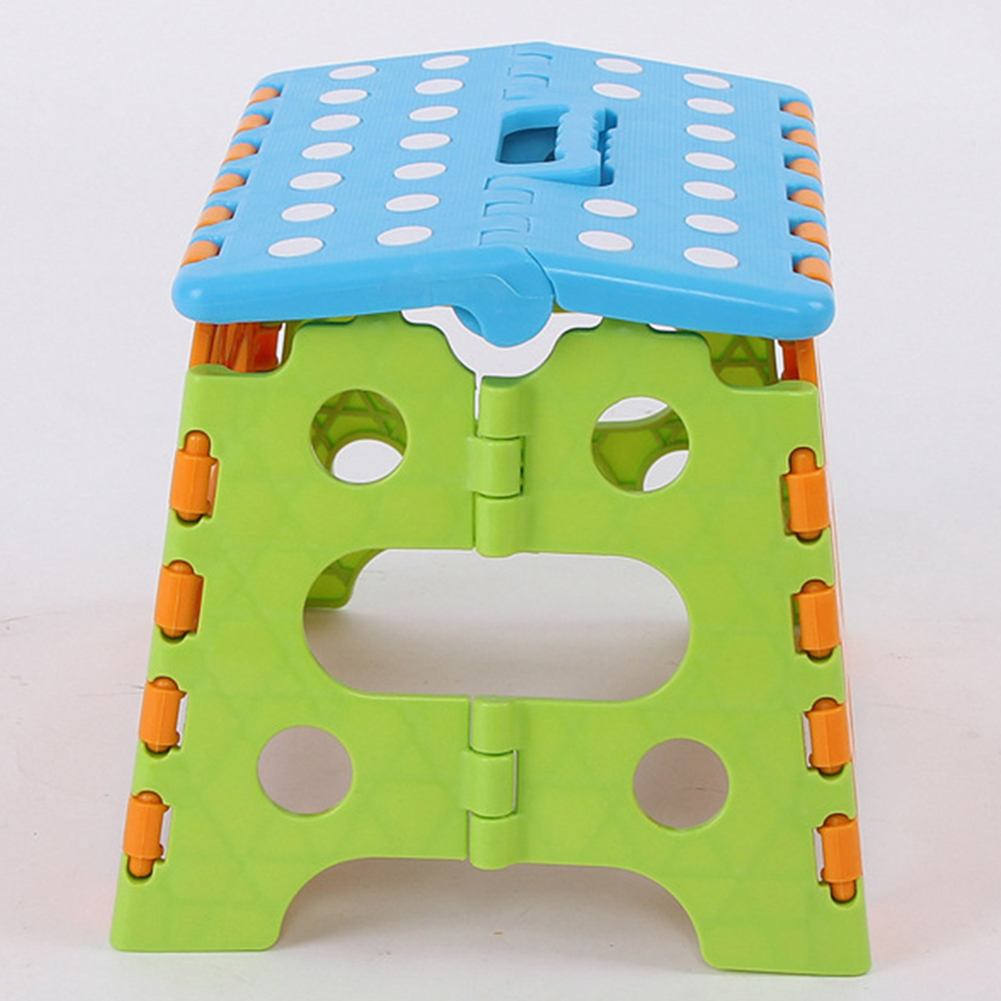 Home Office Space Saving Multi Purpose Portable Durable Kitchen Convenient Bathroom Use For Kids Folding Stool Simple Chair Seat