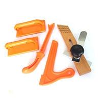Holzbearbeitung Holz Sah Push Stick Set Für Zimmerei Tisch Sicherheit Hand Schutz Sägemehl Set von Tools-in Holzbearbeitungsmaschinen-Teile aus Werkzeug bei