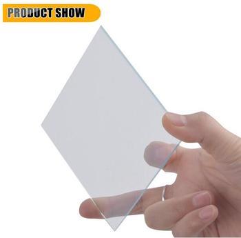 50x50x1.1mm, <17 ohm/sq, 50pcs Lab Transparent Conductive Indium Tin Oxide ITO Glass