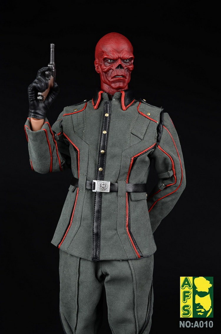 Toys & Hobbies Afs Captain America Hydra Red Skull Suit A010a Leather Coat Edition/ A010b Overcoat Edition For 12collectible Action Figure Diy