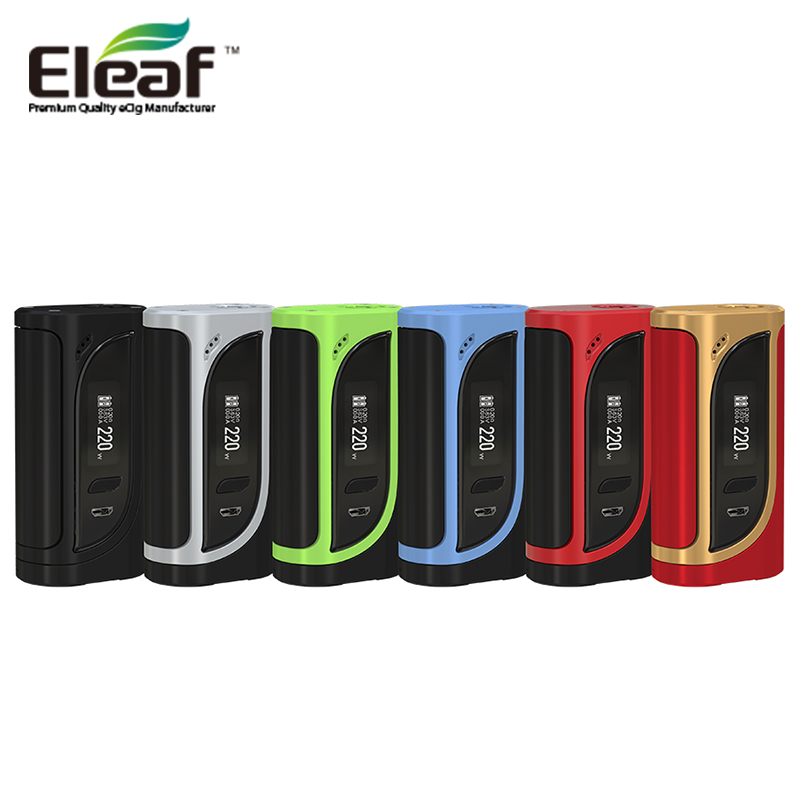 Original 200W Eleaf ikonn 200 TC Box Mod Powered by 18650 Battery for Ello Tank Atomzier RBA RTA RDTA E Cigarette Vape Vaporizer e cigarette mod aspire pegasus 70w tc box mod 0 86 inch display vaping mod fit rta rdta vape tank without 18650 battery mod
