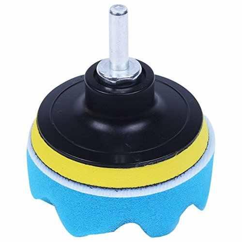 10 pièces/ensemble Automobile voiture tampon de polissage ensemble véhicule nettoyage lavage polonais éponge roue