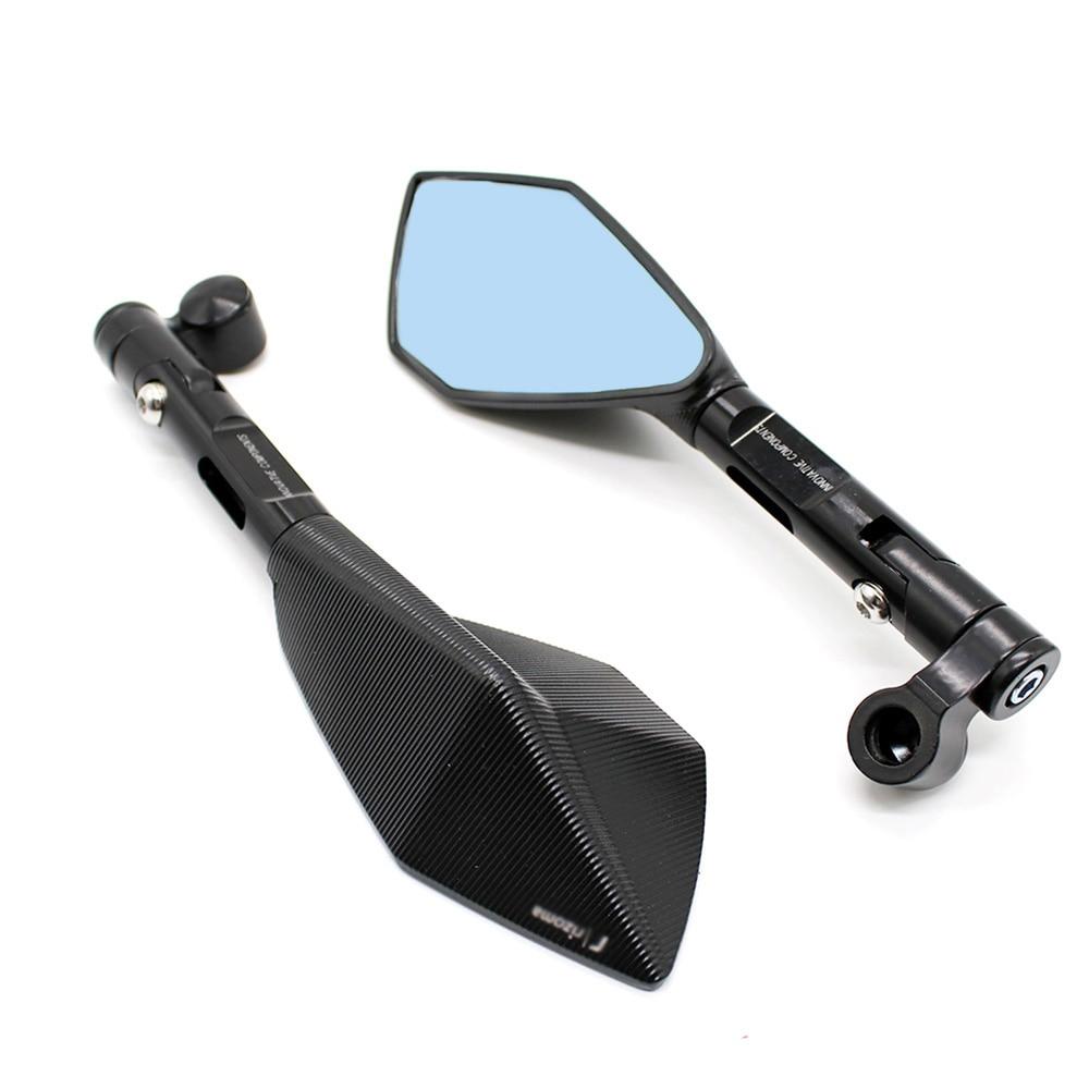 Motorcycle Accessories Rearview Mirror Retrovisor For HONDA Cb400 Cbr Msx 125 Hornet Yamaha Mt07 Mt09 Yzf Kawasaki Z800 Z1000