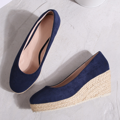 Single-Shoes High-Heels Professional Wedge Platform New And Autumn Thick Waterproof Spring