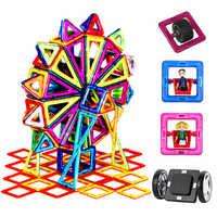 90-182 unids/set tamaño estándar grande modelo magnético y bloques de construcción de ladrillo de diseño de juguetes 16 juegos diferentes para regalo de cumpleaños de los niños