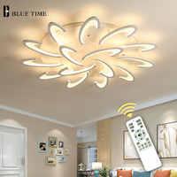 Lámpara de techo LED moderna sala de estar comedor dormitorio Lustre Led lámpara de techo lampara deco accesorio de iluminación