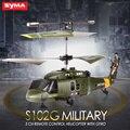 Syma S102G/S108G/S109G/S111G 3CH Girocompás RC Helicóptero de Ataque LED Irrompible de Radio Control Remoto de Interior Para Niños juguetes