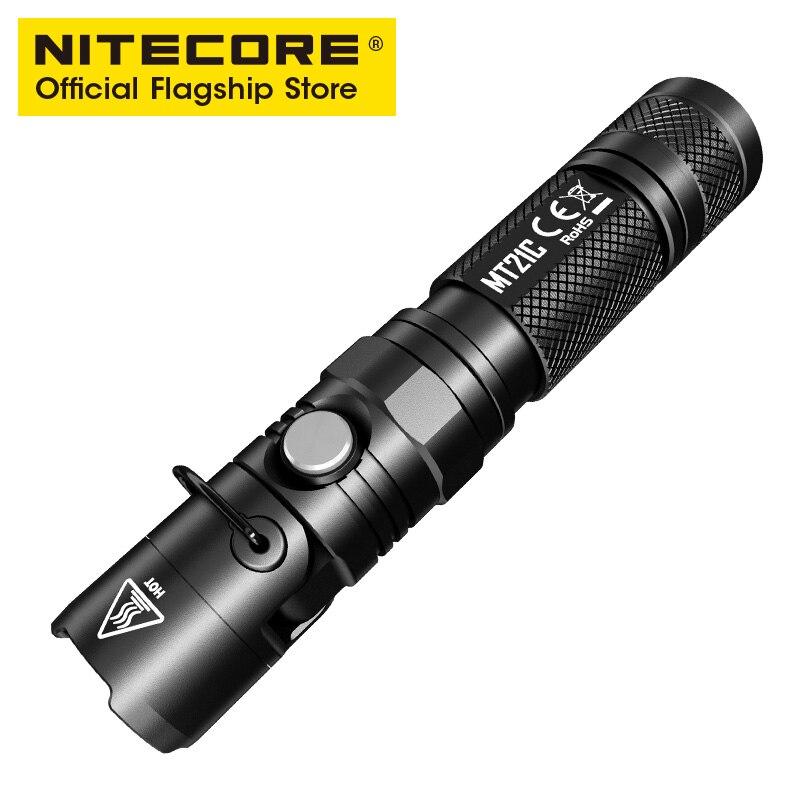Nitecore MH23 ультра яркий ДАЛЬНОБОЙНЫЙ Прямая зарядка USB флэш светильник нажатием одной кнопки Управление сильный светильник флэш светильник - 2