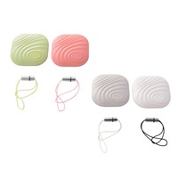 4Pcs Wireless Bluetooth GPS Tracker Nut 3 Original Smart Finder Tracer Anti Lost Location For Bag