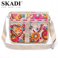 SKADI Russia Hot Sale Messenger Bags for Women Nylon Ladies Shoulder Crossbody Bags Satchel Bags Printing Floral Bags