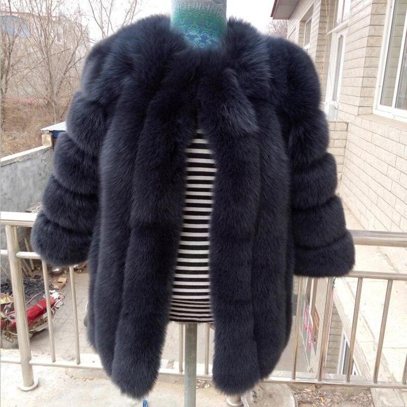 2019 nouveauté 60% Pure à la main tricoté autruche plume manteau de fourrure femmes usine naturel fourrure veste SR142
