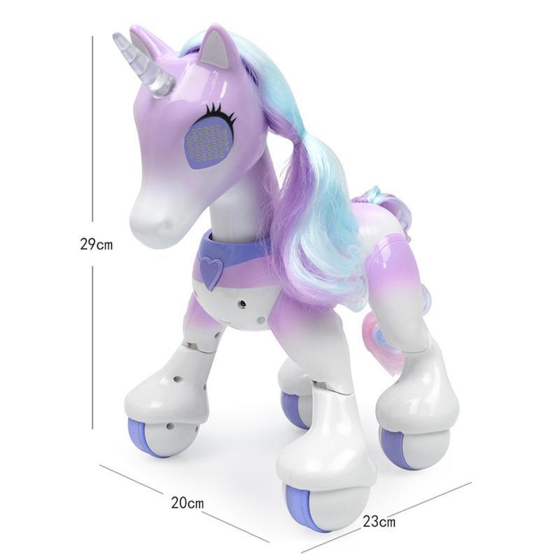Nouveau Intelligente Électrique Cheval Intelligent Télécommande Licorne Enfants Jouets Mignon Animal RC Robot Jouet Éducatif Enfants Cadeaux - 5