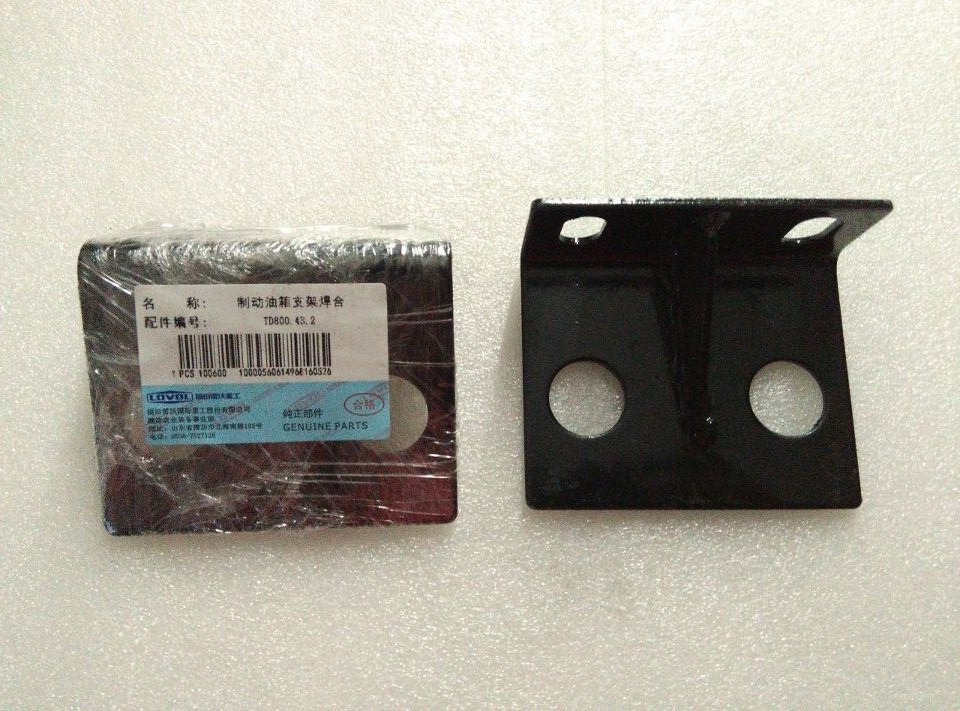 Foton tractor parts, the TD824 bracket for brake pump use, part number: TD800.43.4 foton tractor parts the right mirror with bracket part number ta600 451 10