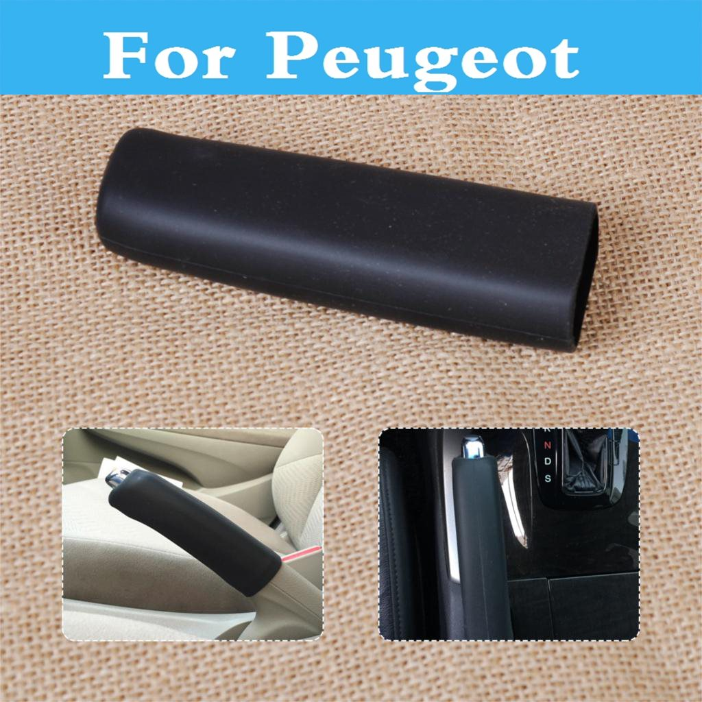 Car Auto Interior font b Accessories b font Hand Brake Cover Decoration For Peugeot 301 307