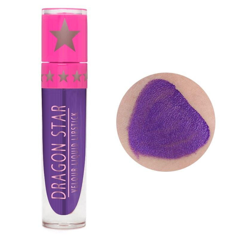 Жидкая металлическая губная помада, водостойкая, блестящая, сексуальная, красная, синяя, для губ, оттенок, блеск для губ, Обнаженная, долговечная, антипригарная чашка, блеск для губ TSLM1 - Цвет: 09
