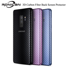 5Pcs/lot for Samsung Galaxy Note 8 Back 3D Carbon Fiber Screen Protector for samsung A8 2018 A5 2017 S9 S8 plus Protective Film for samsung galaxy note10 pro 3d carbon fiber protective back film for galaxy note 8 9 10 10 back screen protector film sticker