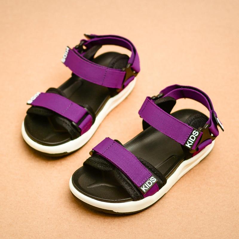 jauna vasaras 2018 bērnu sandales modes zēnu pludmales apavi - Bērnu apavi