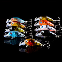 New 109/lot  Fishing Lures Set Mixed 12 Models Hard Baits Artificial Make Quality Professional  Bass Crankbait Fishing Tackle