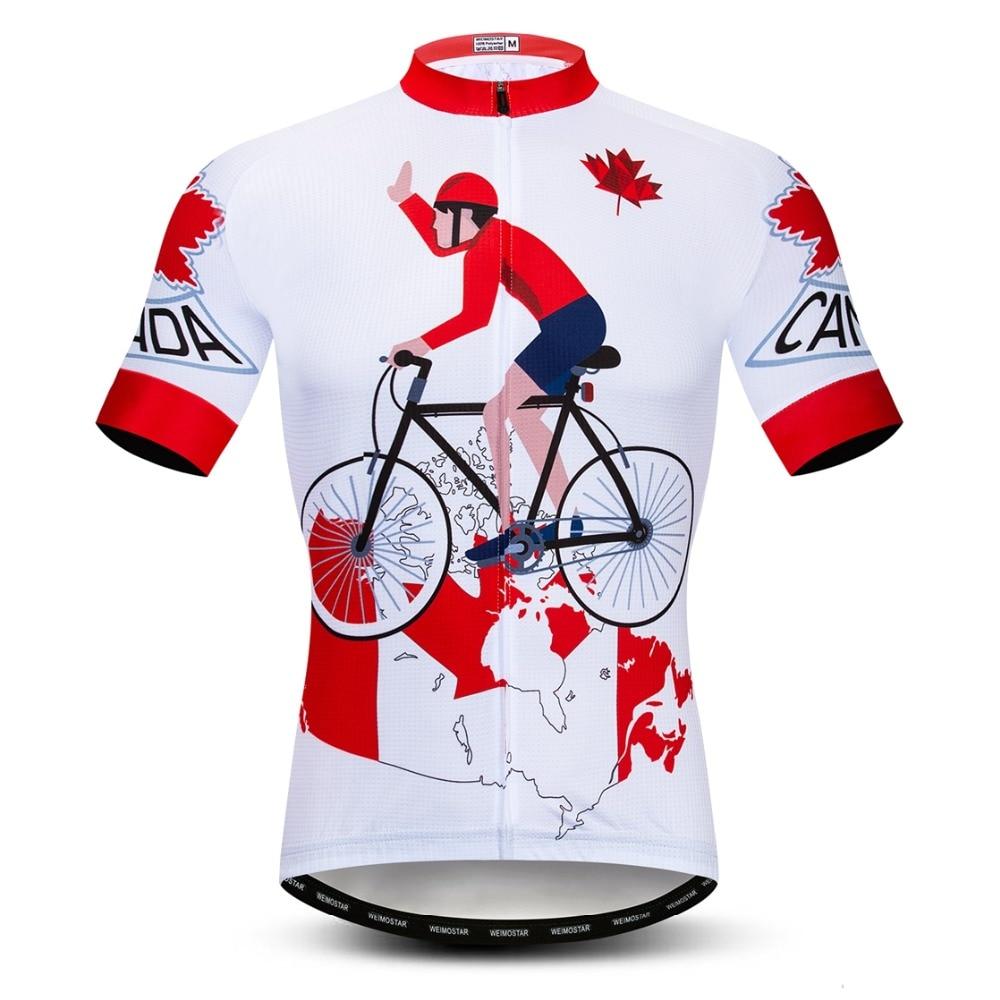 2019 MTB Road Mens Team Cycling Jersey Bike Riding Race Top Clothing S~2XL Shirt