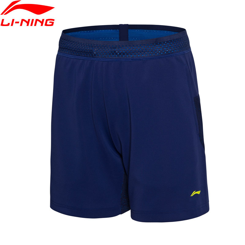 Li-Ning 2018 Women Badminton Shorts National Team Competition Suits AT DRY Breathable Li Ning Comfortable Shorts AAPN016