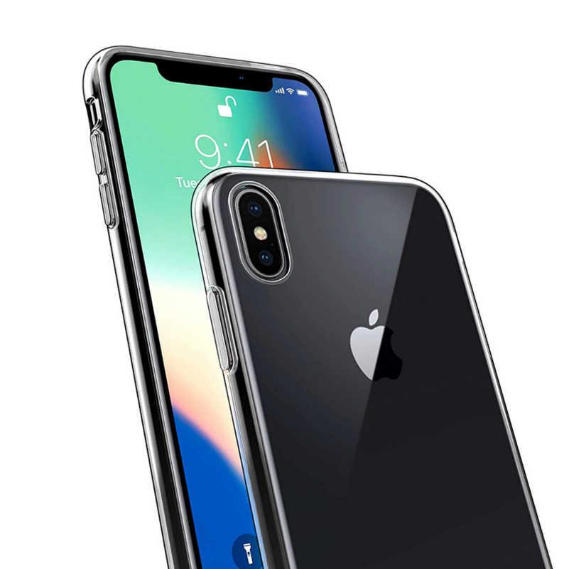 Мягкий ТПУ чехол для телефона для iPhone 6 Plus прозрачный чехол TPU силиконовый чехол для телефона чехол для iPhone XR XS Max X 68 7 Plus 5 5S SE