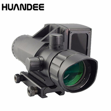 Big sale 4X32 waterproof shockproof riflescope with laser rangefinder high speed measurement laser range finder hunting laser scope