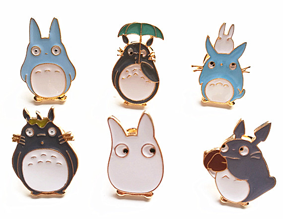 Fashion Jewelry Totoro Metal Enamel Brooch Pins  In Brooches From Jewelry U0026  Accessories On Aliexpress.com   Alibaba Group