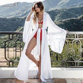 AEL Fashion Loose Soft Comfortable Night Robe Women Belt Bathrobe Women's Sleep Sexy Sleepwear Shift 2017 Select 3 Color 4