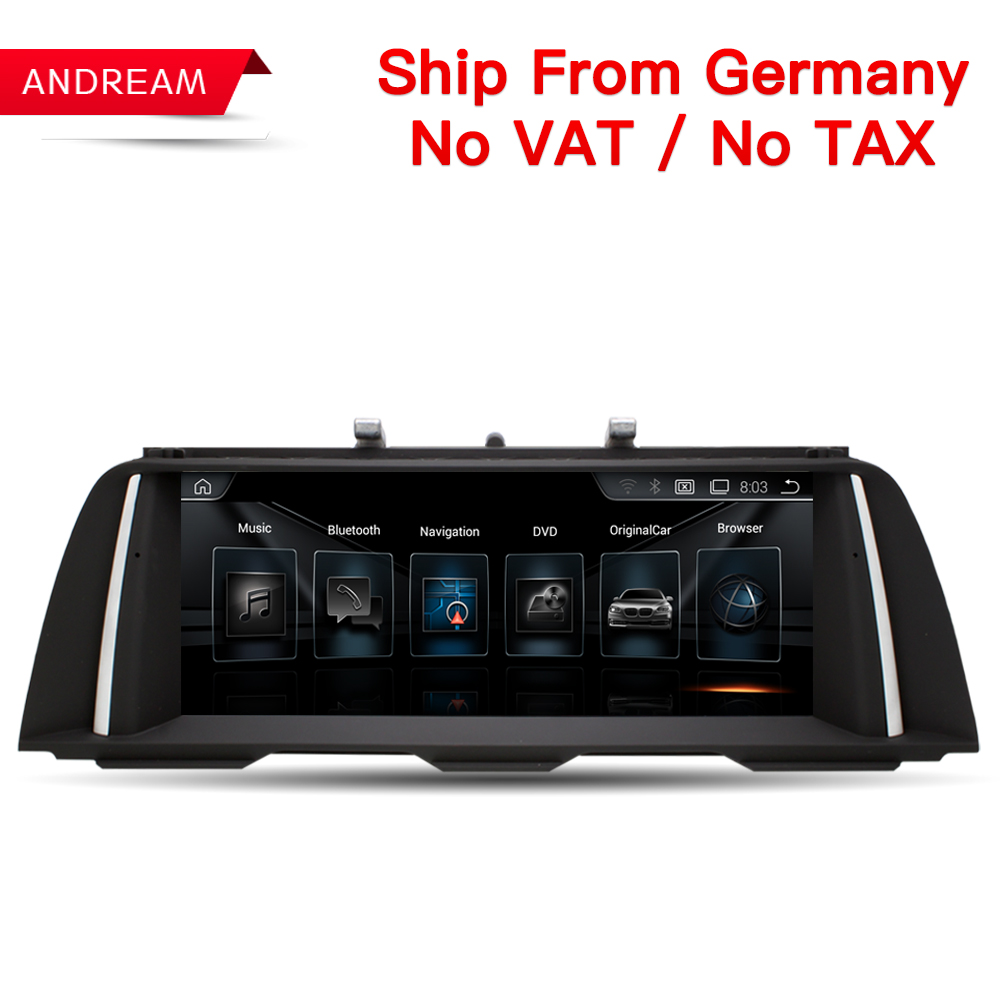 10.25 Quad Core Android 4.4 Car multimedia interface for BMW Series 5 F10 F11  GPS Navigation Support iDrive Steering wheel