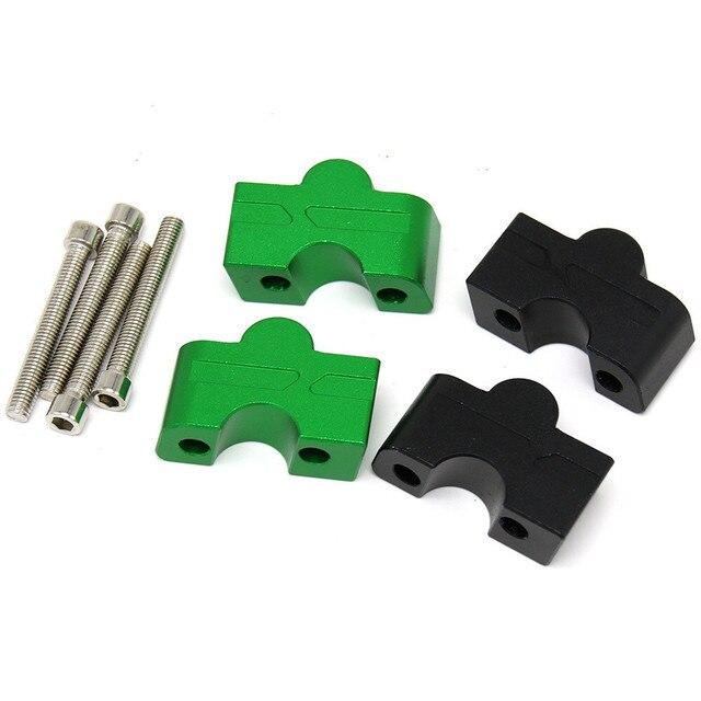 Motorcycle HandleBar Riser Handle Bar Mount Clamp Adapter For Kawasaki ER6N ER 6N ER6F ER 6F ER 6N 6F Z650