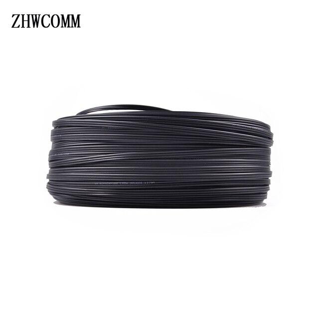 ZHWCOMM 100 м Открытый SC-SC волоконно-оптический патч-корд FTTH одномодовый кабель Одномодовый патч-корд