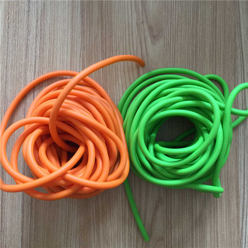 10 M / Bag Green Orange 3060 Od6mm And Id3mm Shooting, Hunting, Slingshot Rubber Hose Strapping New A-136