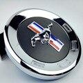3D Auto Preto Correndo Cavalo Pônei Rabo de Tronco Traseiro Decal Deck tampa do emblema do emblema etiqueta fit para mustang shelby gt500 frete grátis