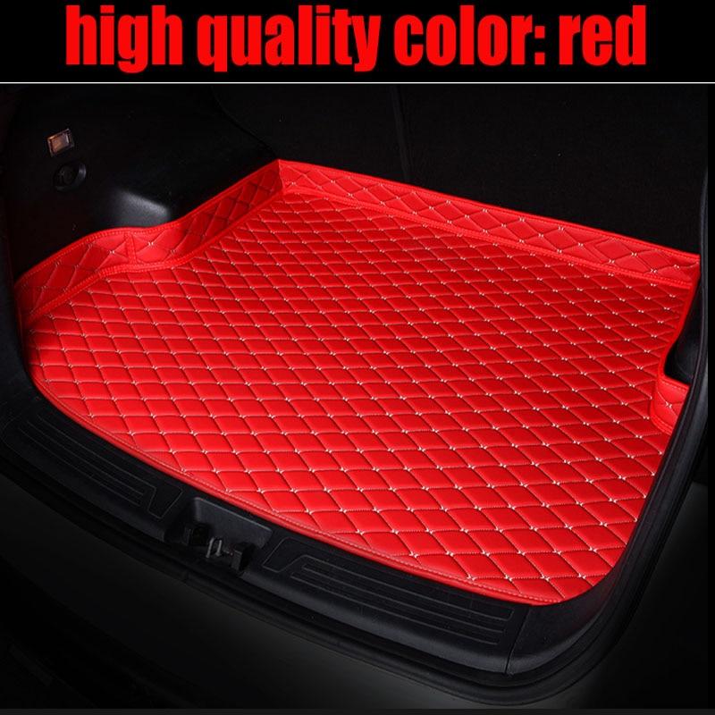 アウディA6 S6 A4 S4オールロードアバントA3 A5 A7 A8専用の車のトランクマット防水良いケースカーペットラグライナーメルセデスベンツCLA-класс