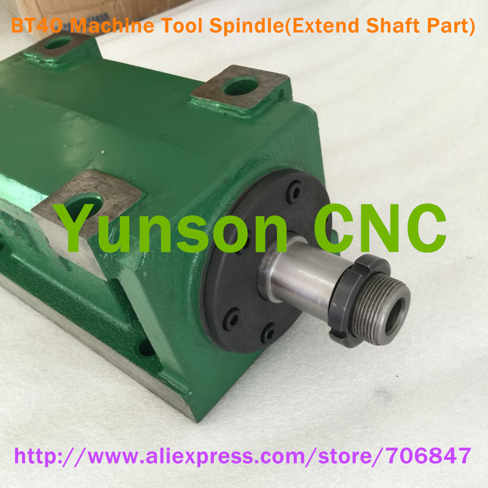 Image 3 - BT40 Taper Chuck 3000W 3KW 4hp Power Head Power Unit Machine Tool Spindle 3000RPM for CNC Cutting/Boring/Milling machine-in Machine Tool Spindle from Tools