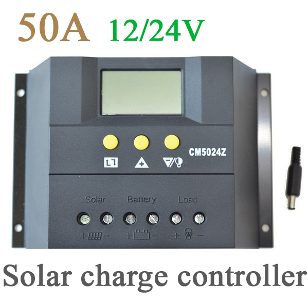 Solar charge controller 50A 12/24V,Fast delivery& shipping 3 7day to all country