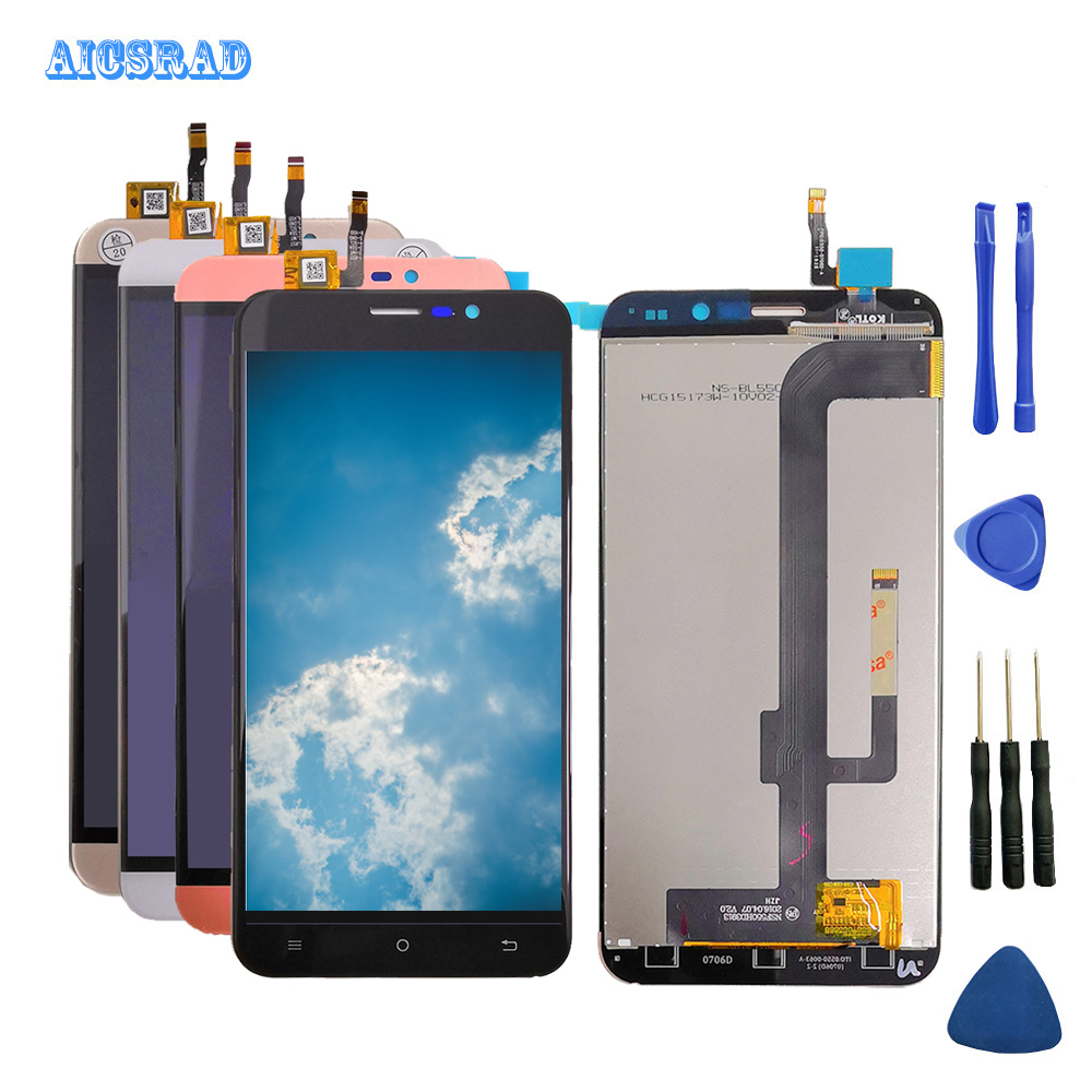 Black/gold/white Have In Stock For Cubot Note S LCD Display+Touch Screen Digitizer Assembly Replacement Accessories Notes +tools