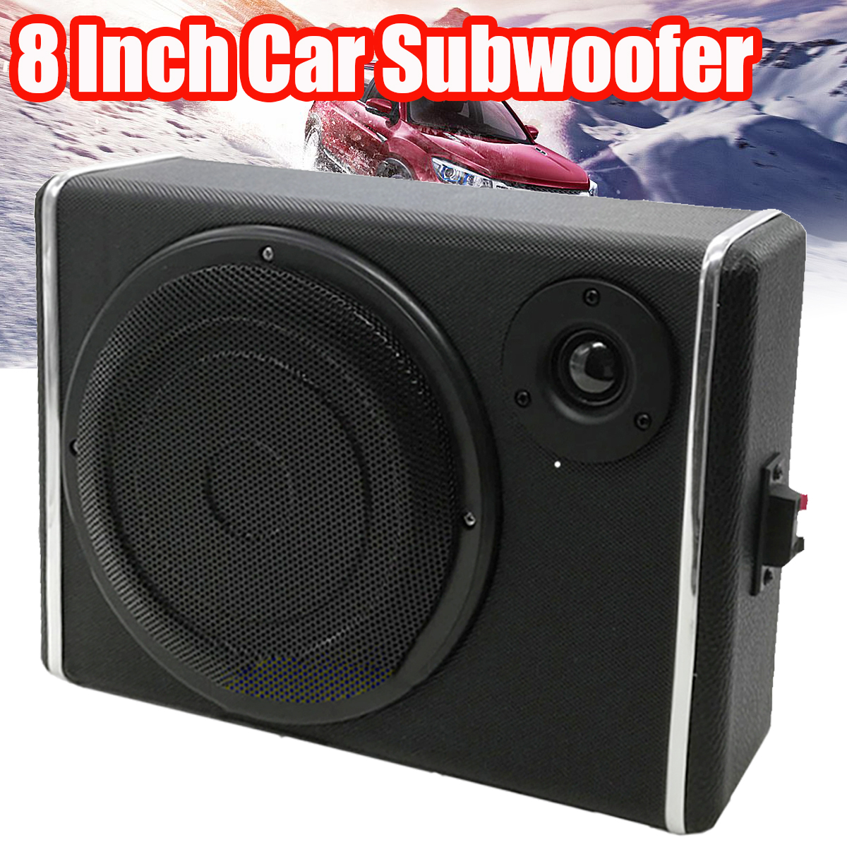 8 inch bluetooth car home subwoofer under seat sub 600w stereo subwoofer car audio speaker music system sound woofer 8 Inch Car Subwoofers Speaker Portable Auto Audio Loudspeaker Horn Car Stereo System Sound Subwoofer Speaker Car Sound