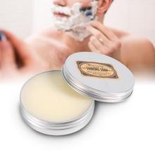 1 Pcs creme de barbear Rodada dos homens Barba Barbear Facial Leite de Cabra Sabão de barbear creme de barbear Barbearia Ferramenta A4