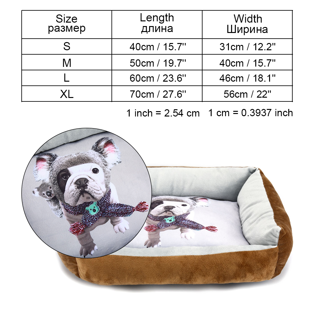 Pet Dog Bed Sofa Dog Waterproof Bed For Small Medium Large Dog Mats Bench Lounger Cat Chihuahua Puppy Bed Mat Pet House Supplies (17)