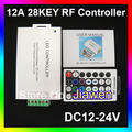 Free shipping+ 12V 12A LED Wireless 28key RF LED RGB Remote Controller
